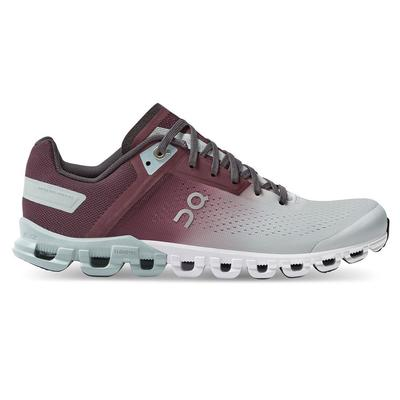 ON RUNNING WOMEN`S CLOUDFLOW 3.0 RUNNING SHOES - MULBERRY/MINERAL