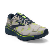 BROOKS WOMEN`S GHOST 14 RUNNING SHOES - CAMO COLLECTION- MOONBEAM/NIGHTLIFE/NAVY