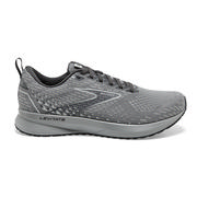 BROOKS WOMEN`S LEVITATE 5 RUNNING SHOES - GREY/OYSTER/BLACKENED PEARL