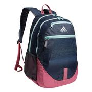 ADIDAS FOUNDATION 5 BACKPACK - COLLEGIATE NAVY/ROSE TONE PINK -LIFETIME WARRANTY