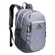 ADIDAS EXCEL 6 BACKPACK - JERSEY ONIX GREY/ROSE GOLD - LIFETIME WARRANTY ONIX.GREY.ROSE.GOLD