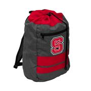 LOGO BRANDS JOURNEY BACKSACK - NC STATE RED.BLACK