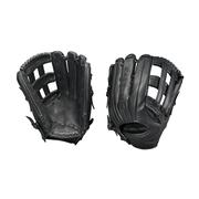 EASTON ADULT BLACKSTONE 12.75 INCH OUTFIELD GLOVE - RIGHT HAND THROWER BLACK
