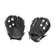 EASTON ADULT PRIME 13 INCH SLOW PITCH SOFTBALL GLOVE - RIGHT HAND THROWER BLACK