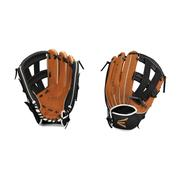 EASTON YOUTH SCOUT FLEX 11 INCH BASEBALL GLOVE - RIGHT HAND THROWER BLACK.TAN
