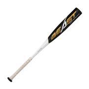 EASTON YOUTH BEAST SPEED USA BASEBALL BAT (-10) - 2 5/8 INCH - 2019 BLACK.WHITE.GOLD