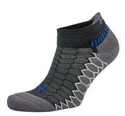 BALEGA SILVER PERFORMANCE SOCKS - NO SHOW TAB - BLACK/CARBON 0341.BLACK.CARBON