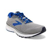 BROOKS MEN`S ADRENALINE GTS 20 RUNNING SHOES - WIDE (2E-WIDTH) - GREY/BLUE/NAVY 051.GREY.BLUE.NAVY