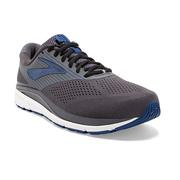 BROOKS MEN`S ADDICTION 14 RUNNING SHOES - BLACKENED PEARL/BLUE/BLACK