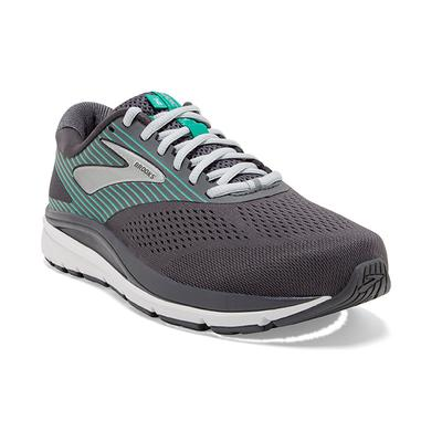 BROOKS WOMEN`S ADDICTION 14 RUNNING SHOES - BLACKENED PEARL/ARCADIA