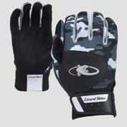 LIZARD SKINS ADULT KOMODO BATTING GLOVES - BLACK CAMO - MEDIUM 110.BLACK.CAMO