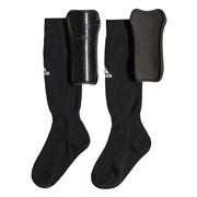 ADIDAS YOUTH SOCK SHIN GUARDS - BLACK BLACK