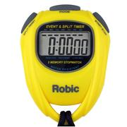 ROBIC SC-539 EVENT AND SPLIT TIMER - YELLOW YELLOW