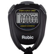 ROBIC SC-539 EVENT AND SPLIT TIMER - BLACK BLACK