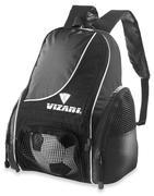 VIZARI SOLANO BACK PACK - BLACK - SOCCER SPORTS BAG BLACK