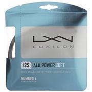 LUXILON ALU POWER 125 16 GAUGE (1.25MM) TENNIS STRING - SILVER
