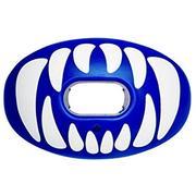 BATTLE SPORTS OXYGEN PREDATOR FOOTBALL MOUTHGUARD - BLUE/WHITE BLUE