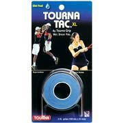 TOURNA TAC XL TENNIS OVERGRIPS - 3 PACK - WET FEEL - BLUE BLUE