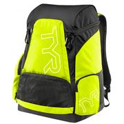 TYR ALLIANCE 45L SWIMMING BACKPACK - FLY YELLOW/BLACK 730.FL.YELLOW.BLACK