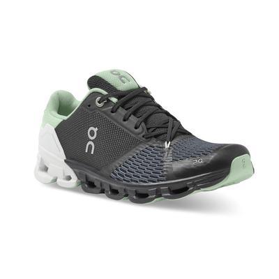 ON RUNNING WOMEN`S CLOUDFLYER 2.0 RUNNING SHOES - BLACK/WHITE
