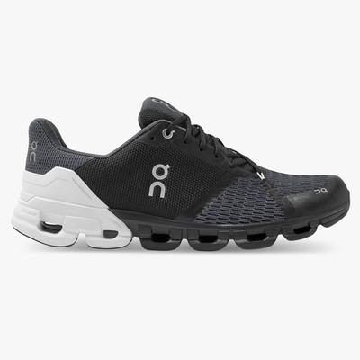 ON RUNNING MEN`S CLOUDFLYER 2.0 RUNNING SHOES - BLACK/WHITE