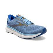 BROOKS WOMEN`S GLYCERIN 18 RUNNING SHOES - CORNFLOWER/BLUE/GOLD