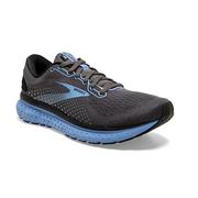 BROOKS WOMEN`S GLYCERIN 18 RUNNING SHOES - WIDE (D) - BLACK/EBONY/CORNFLOWER