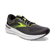 BROOKS MEN`S TRANSCEND 7 RUNNING SHOES - BLACK/EBONY/NIGHTLIFE
