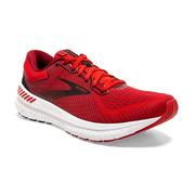 BROOKS MEN`S TRANSCEND 7 RUNNING SHOES - DAHLIA/ORANGE/BLACK 632.DAHLIA.ORA.BLACK