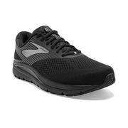 BROOKS MEN`S ADDICTION 14 RUNNING SHOES - EXTRA WIDE (4E) - BLACK/CHARCOAL/BLACK