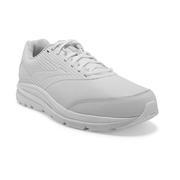 BROOKS MEN`S ADDICTION WALKER 2 WALKING SHOES - WHITE/WHITE