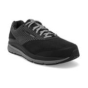 BROOKS MEN`S ADDICTION WALKER SUEDE WALKING SHOES - EXTRA WIDE (4E) - BLACK/PRIM 083.BLACK.PRIMER