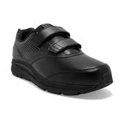 BROOKS MEN`S ADDICTION WALKER V-STRAP 2 WALKING SHOES - WIDE (2E) - BLACK/BLACK