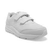 BROOKS MEN`S ADDICTION WALKER V-STRAP 2 WALKING SHOES - WIDE (2E) - WHITE/WHITE