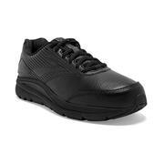 BROOKS WOMEN`S ADDICTION WALKER 2 WALKING SHOES - EXTRA WIDE (2E) - BLACK/BLACK