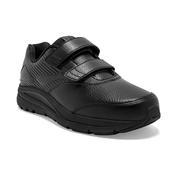 BROOKS WOMEN`S ADDICTION WALKER V-STRAP 2 WALKING SHOES - WIDE (D) - BLACK/BLACK