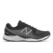 NEW BALANCE WOMEN`S FRESH FOAM 880V10 RUNNING SHOES - WIDE (D) - BLACK/WHITE K.BLACK.WHITE
