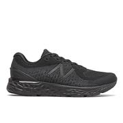 NEW BALANCE WOMEN`S FRESH FOAM 880V10 RUNNING SHOES - WIDE (D) - BLACK/BLACK