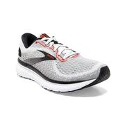 BROOKS MEN`S GLYCERIN 18 RUNNING SHOES - GREY/BLACK/RED