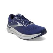 BROOKS MEN`S TRANSCEND 7 RUNNING SHOES - DEEP COBALT/GREY/NAVY