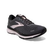 BROOKS WOMEN`S GHOST 13 RUNNING SHOES - WIDE (D) - BLACK/PEARL/HUSHED VIOLET