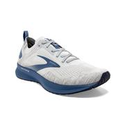 BROOKS MEN`S LEVITATE 4 RUNNING SHOES - GREY/OYSTER/BLUE