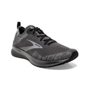 BROOKS MEN`S LEVITATE 4 RUNNING SHOES - BLACKENED PEARL/GREY/BLACK