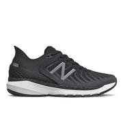 NEW BALANCE WOMEN`S FRESH FOAM 860V11 RUNNING SHOES - WIDE (D) - BLACK/WHITE B.BLACK.WHITE.LEAD
