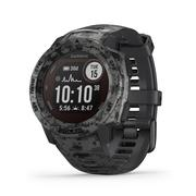 GARMIN INSTINCT SOLAR EDITION RUGGED GPS SMARTWATCH - GRAPHITE CAMO (45MM)