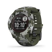 GARMIN INSTINCT SOLAR EDITION RUGGED GPS SMARTWATCH - LICHEN CAMO (45MM)