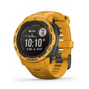 GARMIN INSTINCT SOLAR EDITION RUGGED GPS SMARTWATCH - SUNBURST (45MM)