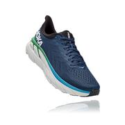 HOKA ONE ONE MEN`S CLIFTON 7 RUNNING SHOES - MOONLIT OCEAN/ANTHRACITE MOAN.MOON.OCEAN.ANTH