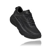HOKA ONE ONE WOMEN`S BONDI 7 RUNNING SHOES - BLACK/BLACK BBLC.BLACK.BLACK