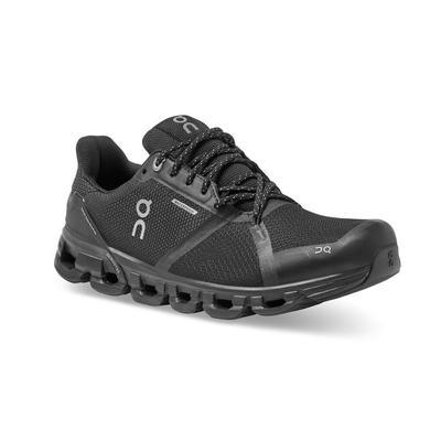 ON RUNNING MEN`S CLOUDFLYER 2.0 WATERPROOF RUNNING SHOES - BLACK/LUNAR
